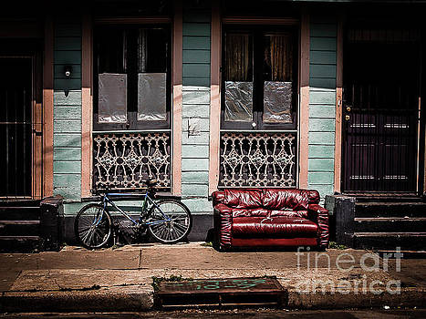 Kathleen K Parker - Couch and Bike - Nola