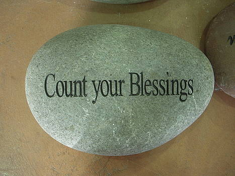 Count your blessings by Deborah Finley