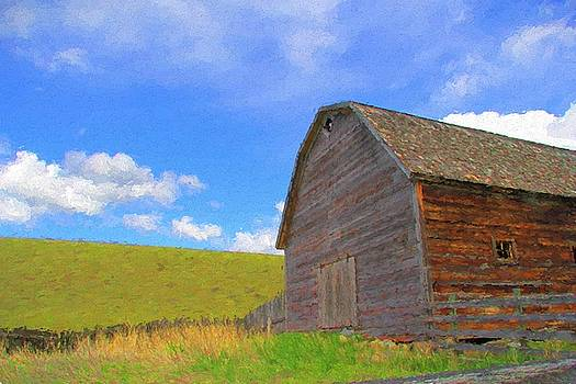 Country Barn by Kathy Bassett