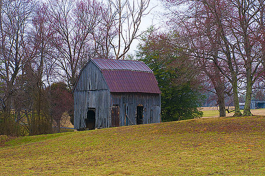 Country Barn by Lori Hutchison
