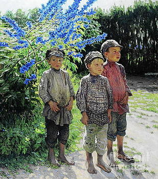 Nikolay Petrovich-Belsky - Country Boys