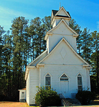 Country Church by Carolyn Ricks