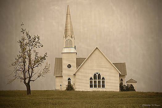 Country Church by Melisa Meyers