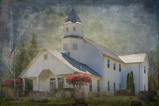 Country Church by Paula Ponath