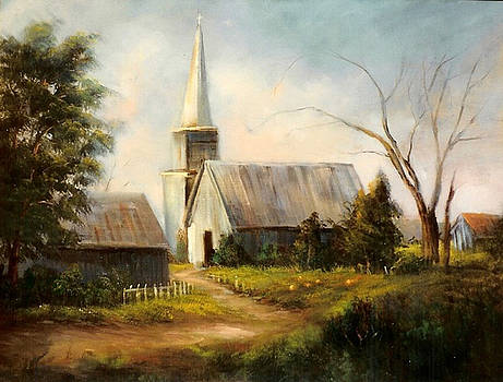 Country Church by Sally Seago