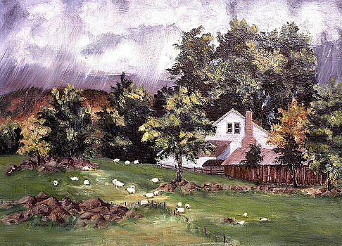 Country Cottage by Connie Williams