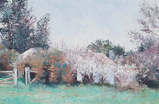 Jan Matson - Country Cottage in spring time