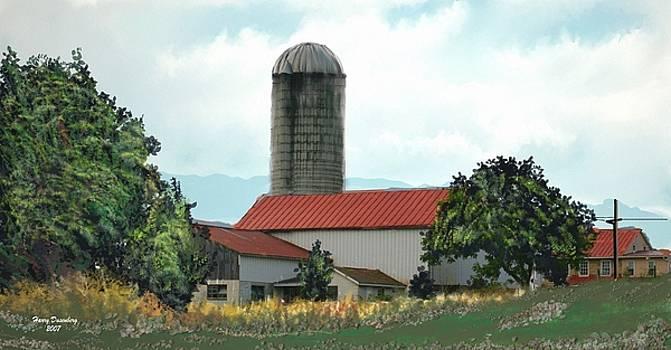 Country Farm by Harry Dusenberg