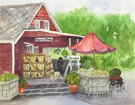 Country Farmer's Market by Lucia Grilletto