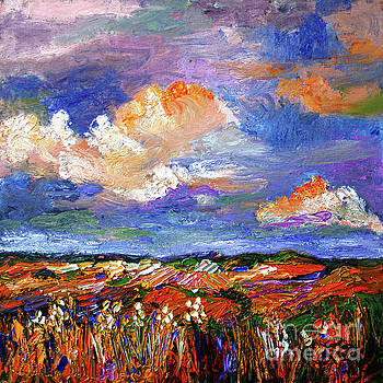 Ginette Callaway - Country Fields Impressionist Landscape