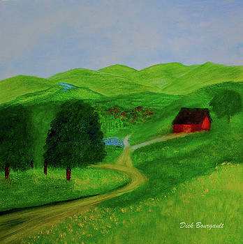 Country Green by Dick Bourgault