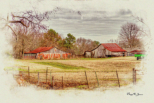 Country Landscape by Barry Jones