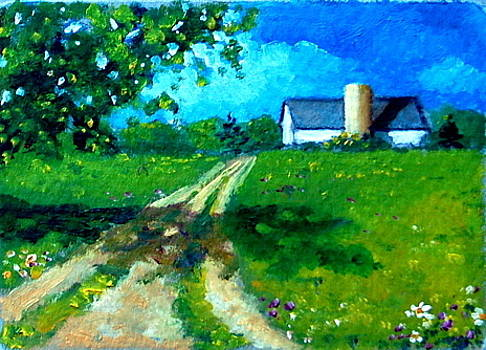 Joyce Geleynse - Country Lane in Summer
