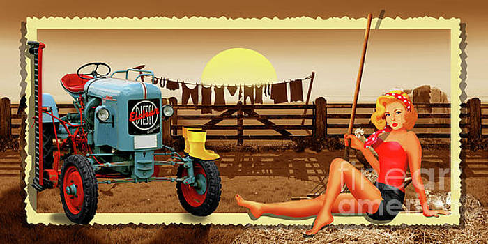 Country life with Pin Up Girl 2 by Monika Juengling