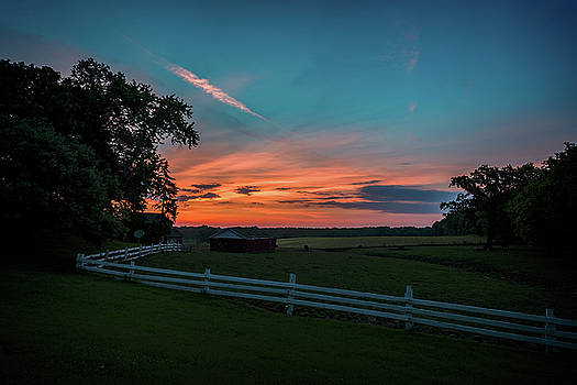 Country Morning by CJ Schmit