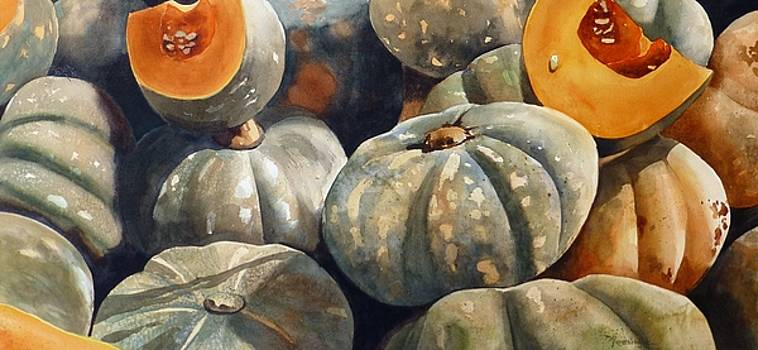 Country Pumpkins by Renata Wright