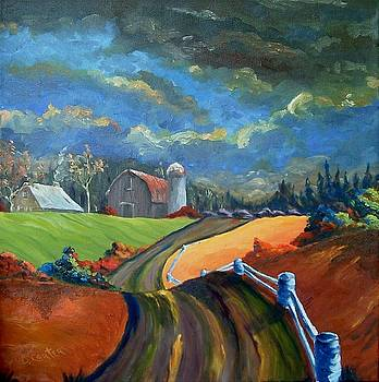 Country Road by David Carter