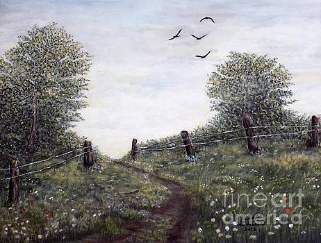 Country Road by Judy Kirouac