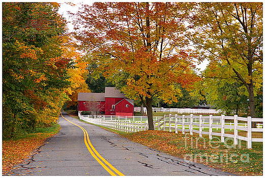 Country Road by Marcel  J Goetz  Sr