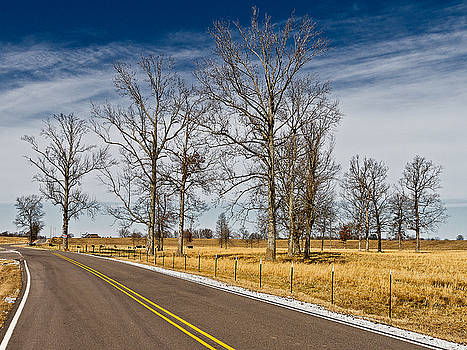 Country Road by Ron Dubin