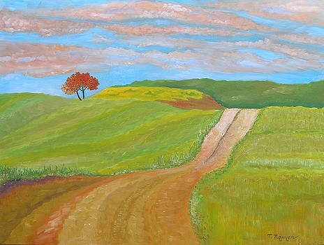 Country Road USA by Thi Nguyen