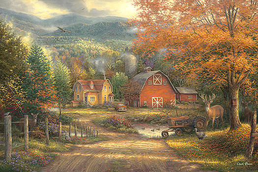 Country Roads Take Me Home by Chuck Pinson