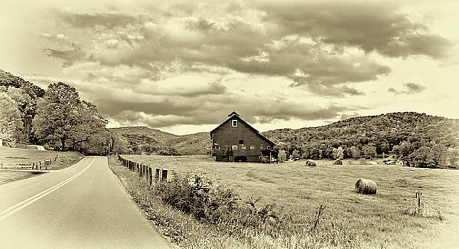 Steve Harrington - Country Road...West Virginia - Sepia