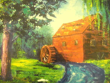 Country Scene by Aldonia Bailey