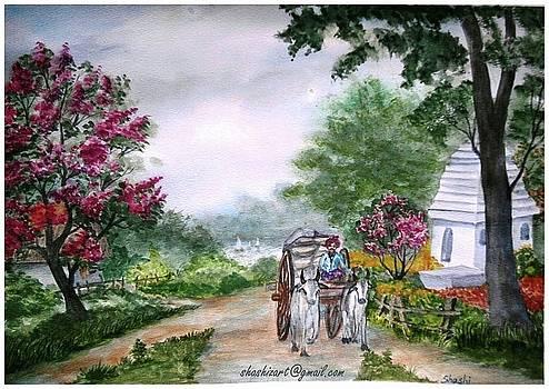 Country side 2 by Shashikanta Parida