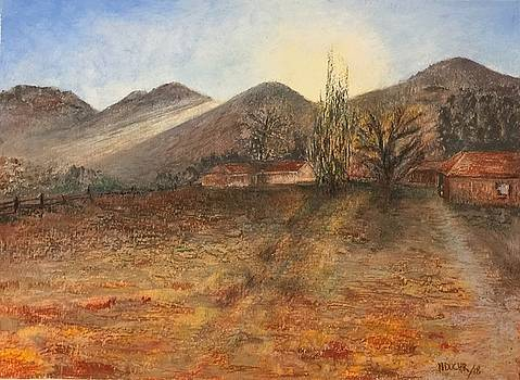 Country Sunset by Norma Duch