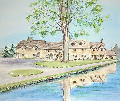 Countryside cottages by Elizabeth Lock