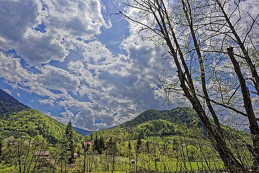 Countryside hills Rau Sadului Sibiu County Romania by Adrian Bud