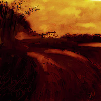 Countryside Landscape II by Jim Vance