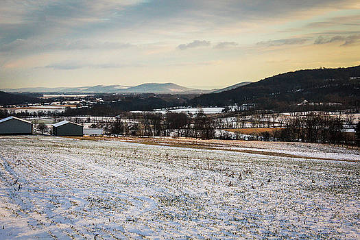 Countryside Snow by Chris Fiegel
