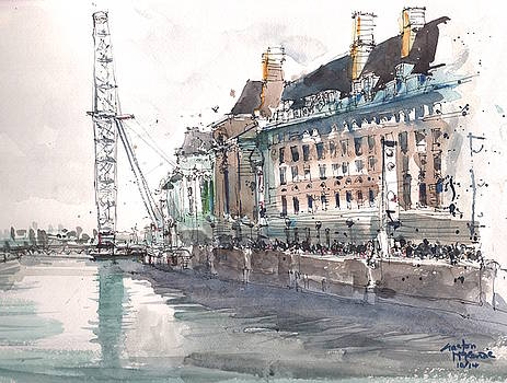 County Hall London by Gaston McKenzie
