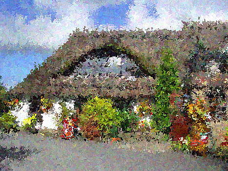 County Restaurant impressionist effects. by Dawn Hay