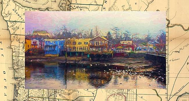 Coupeville and Map by Rick Lawler