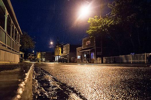 Mary Lee Dereske - Coupeville on a Rainy Night