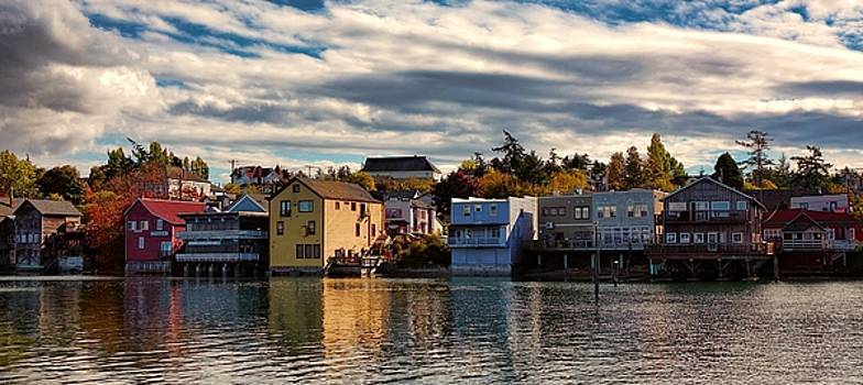 Coupeville Waterfront by Rick Lawler
