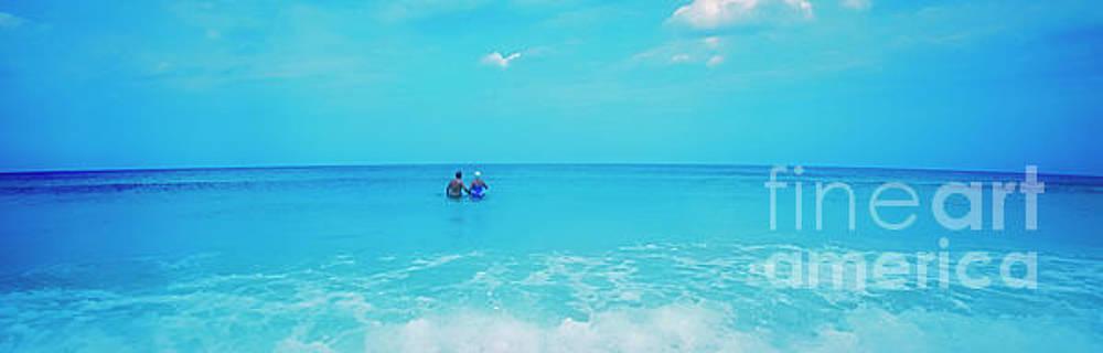 Waist Deep Surf Daytona Beach Florida by Tom Jelen