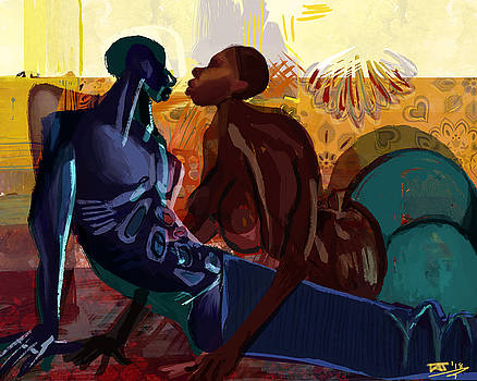Couples Abstract by David James