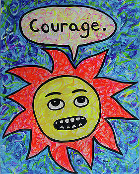 Courage by Stephanie McMillan