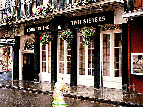 Court of the Two Sisters - New Orleans, LA by Merton Allen