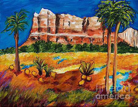 Courthouse Butte Rock, Sedona Arizona by Art by Danielle