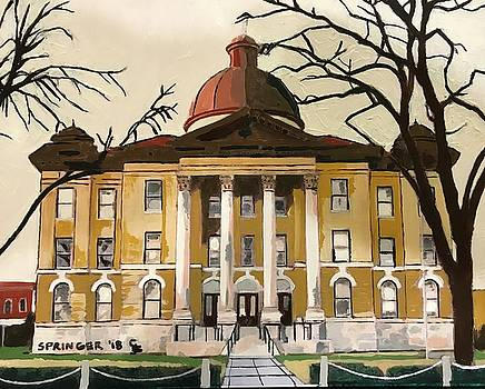 Courthouse on the Square by Gary Springer