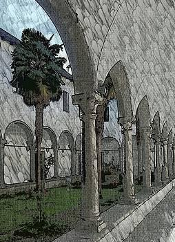 Courtyard by Kurt Hausmann