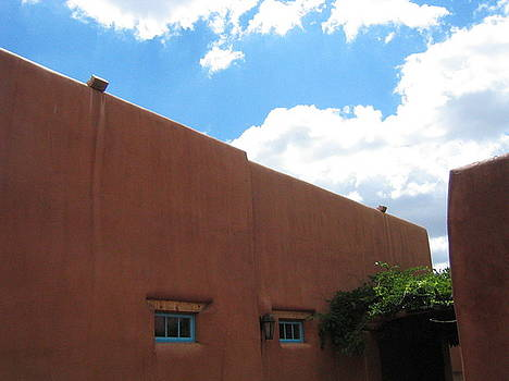 Courtyard New Mexico by K Hoover
