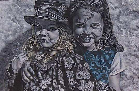 Cousins by Emily Young