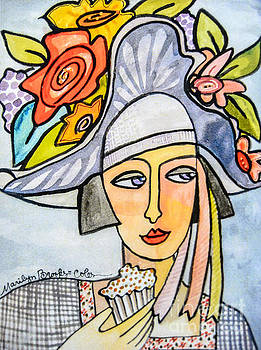 Couture Chapeau by Marilyn Brooks