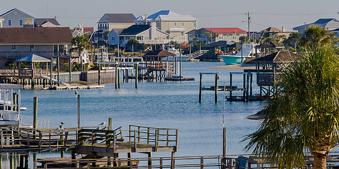 Cove View From Sailfish Drive by Ed Gleichman